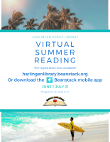 Virtual Summer Reading Program @ Online