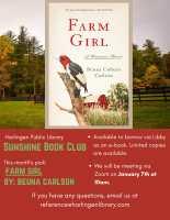 Sunshine Book Club Virtual Discussion (Zoom)