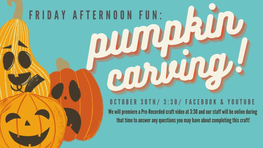 Friday Afternoon Fun: Pumpkin Carving
