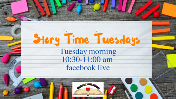 Story Time Tuesdays: Fall 2020 @ Harlingen Public Library Facebook Page