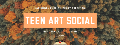 Teen Art Social @ Zoom
