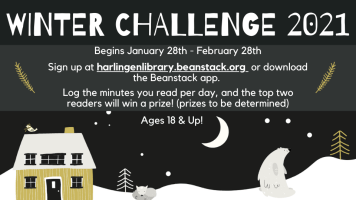 Winter Reading Challenge for Adults