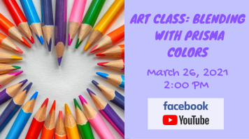 Art Class: Blending With Prisma Colors (Facebook & YouTube)