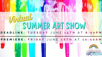 Summer Virtual Art Show! @ Harlingen Public Library Social Media