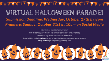 Virtual Halloween Parade: Submissions Due