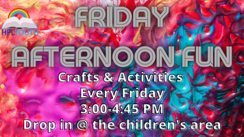 Friday Afternoon Fun! @ Harlingen Public Library Children's Area