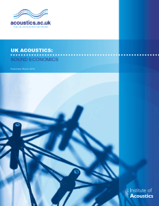 UK Acoustics: Sound Economics Report