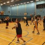 Hawks U11's training session