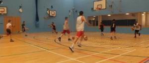 Hawks U14's training session
