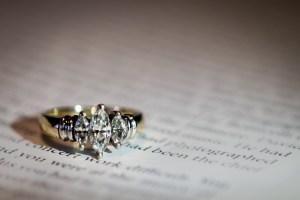 Engagement Ring Photo Houston