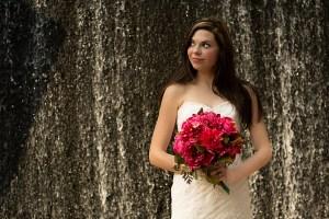 Downtown Houston Bridal Portrait