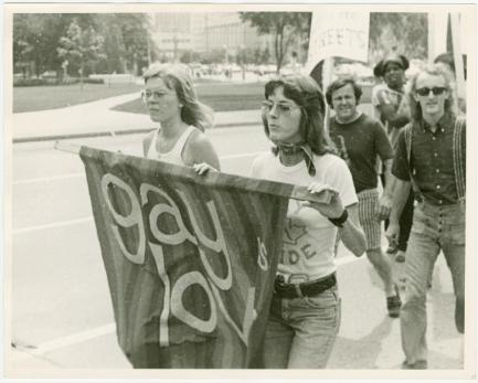 """Manuscripts and Archives Division, The New York Public Library. """"Toronto Gay Pride March, 1972"""" The New York Public Library Digital Collections."""