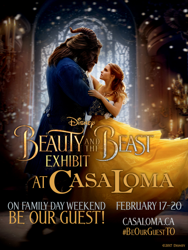 Visit: Beauty And The Beast Exhibit At Casa Loma
