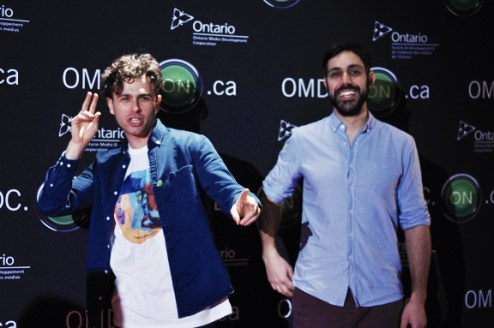Max & Nick (The Arkells)