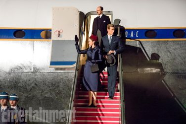 The Crown (L to R) Claire Foy, Matt Smith, TK