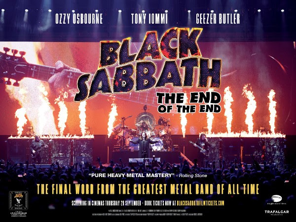 Cineplex Events Raises The Final Curtain For Black Sabbath: The End Of The End