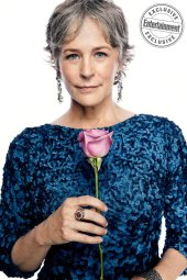 Melissa McBride from the cast of The Walking Dead photographed exclusively for Entertainment Weekly by Art Streiber on June 24th. 2017 in Senoia Georgia. Styling: Elaine Montalvo Prop Styling: John Sanders Costumers: Mia Nunnally, Derrick Vener