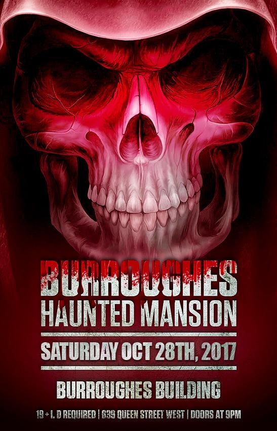 Burroughes Haunted Mansion-October 28 2017