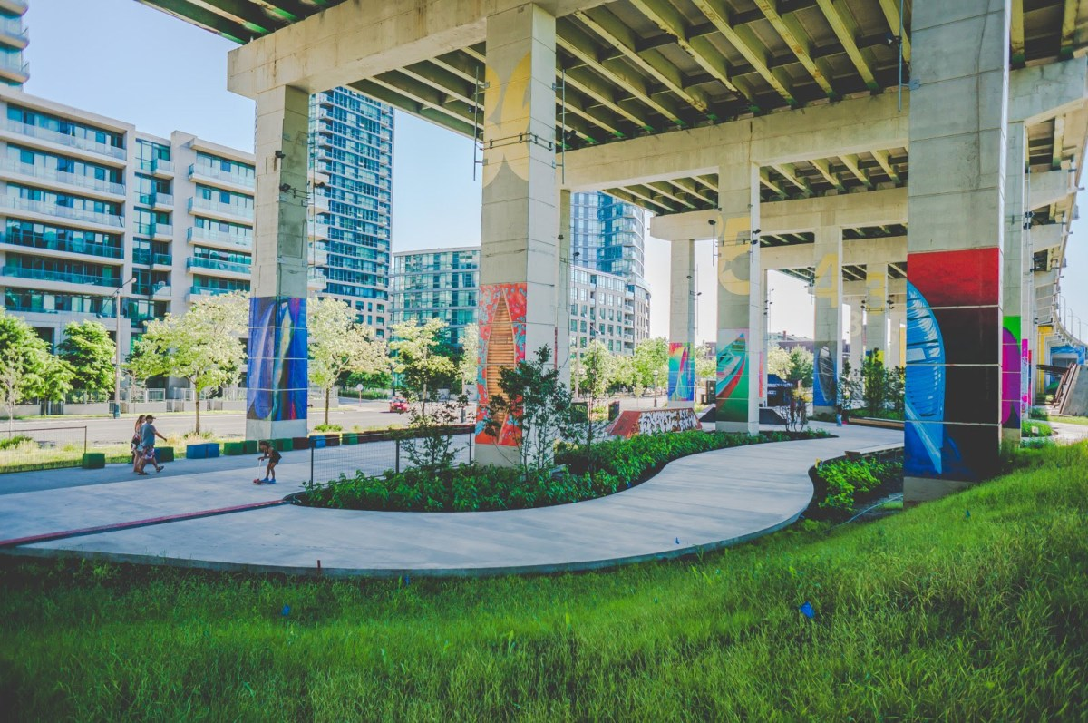 Photos: Sunday Social-The Bentway, Toronto-July 2018