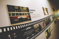 A visual timeline with Fairmont's long history with film