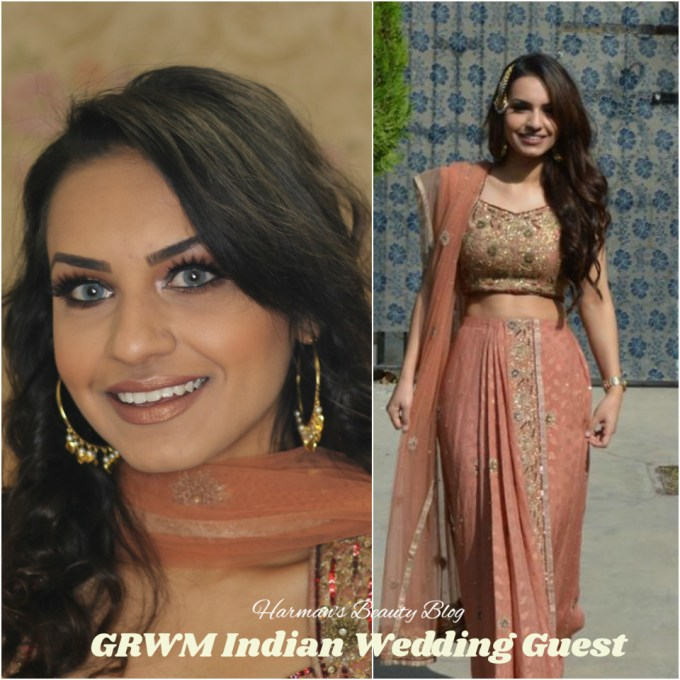 indian wedding guest makeup tutorial! – harman's beauty blog