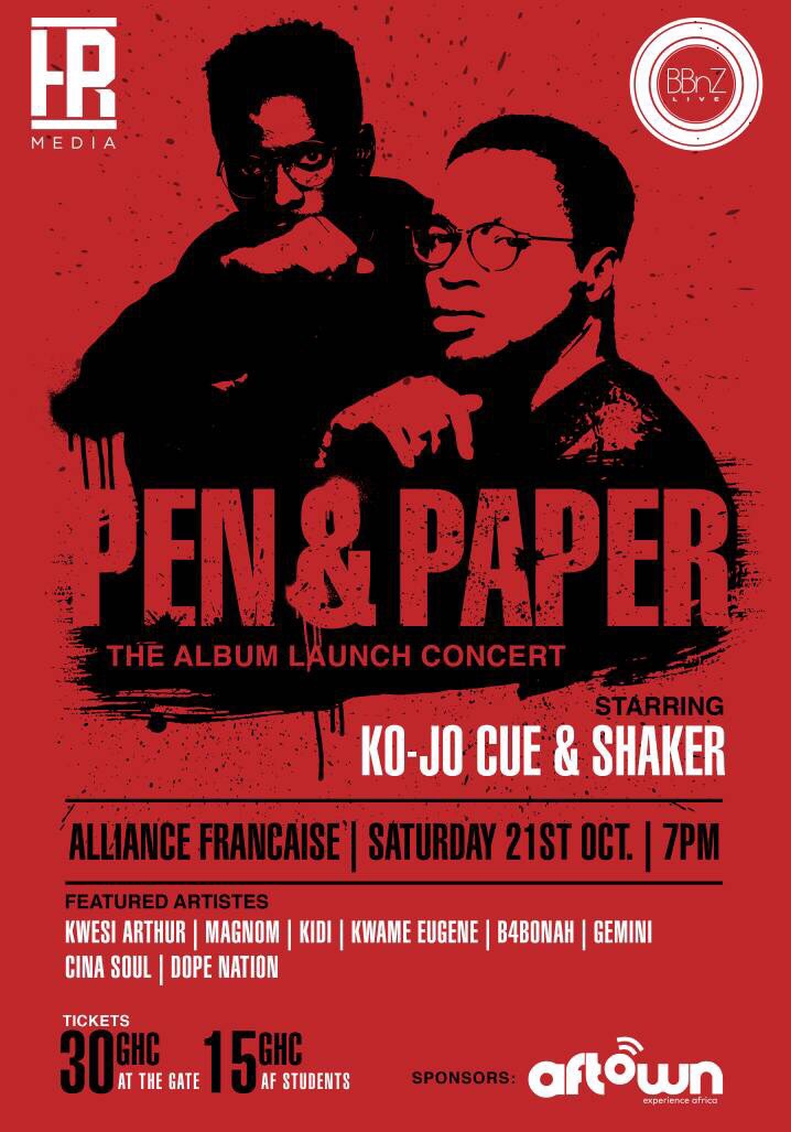 Pen and Paper: The Album Launch Concert