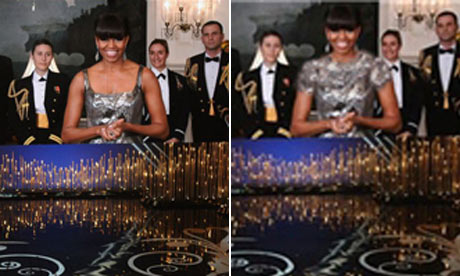 Michelle Obama's Oscars dress
