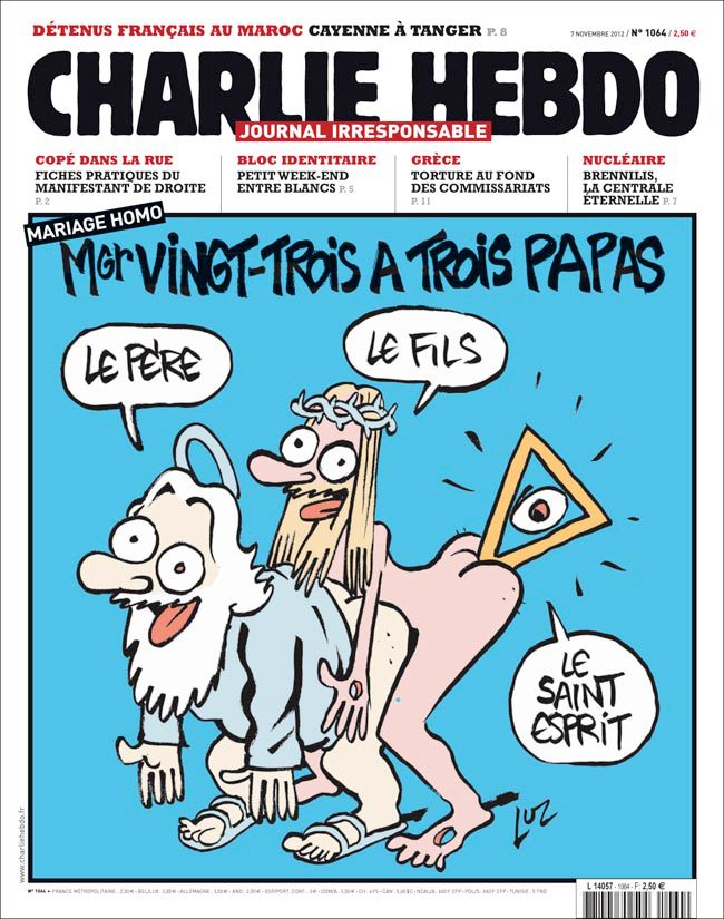 Charlie Hebdo attack: Censorship. Freedom. Respect. And why one cannot overlap with the other (yes, with RESPECT too!)