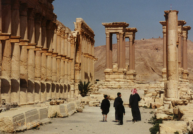 Palmyra: Islamists exposing the total void in western values. [OR: Let it burn. Let it burn…]