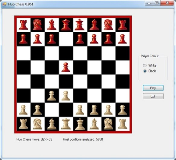 How to code a chess program in one day  (C# and Java