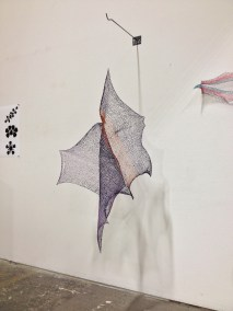 Bat Wing Sculpture