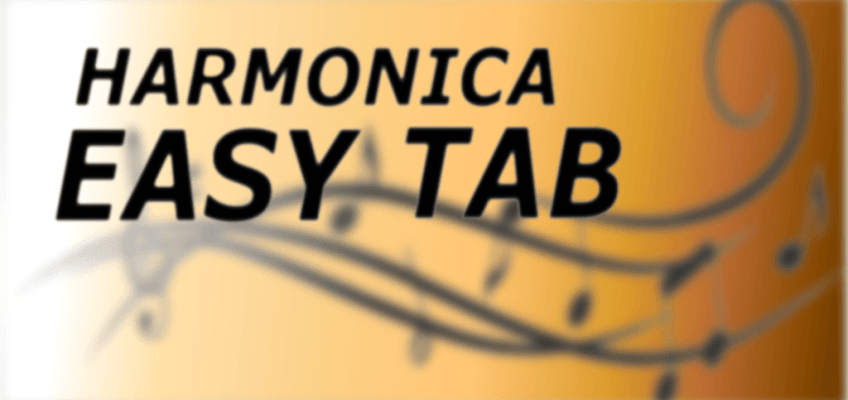 harmonica easy tab
