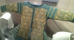 Silk jacket made from thread