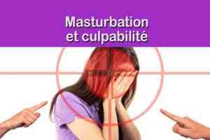 Masturbation et culpabilité