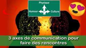 Les 3 axes de communication de séduction pour réussir ses rencontres