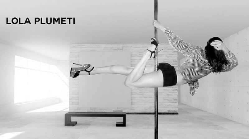 Lola plumeti pole dance