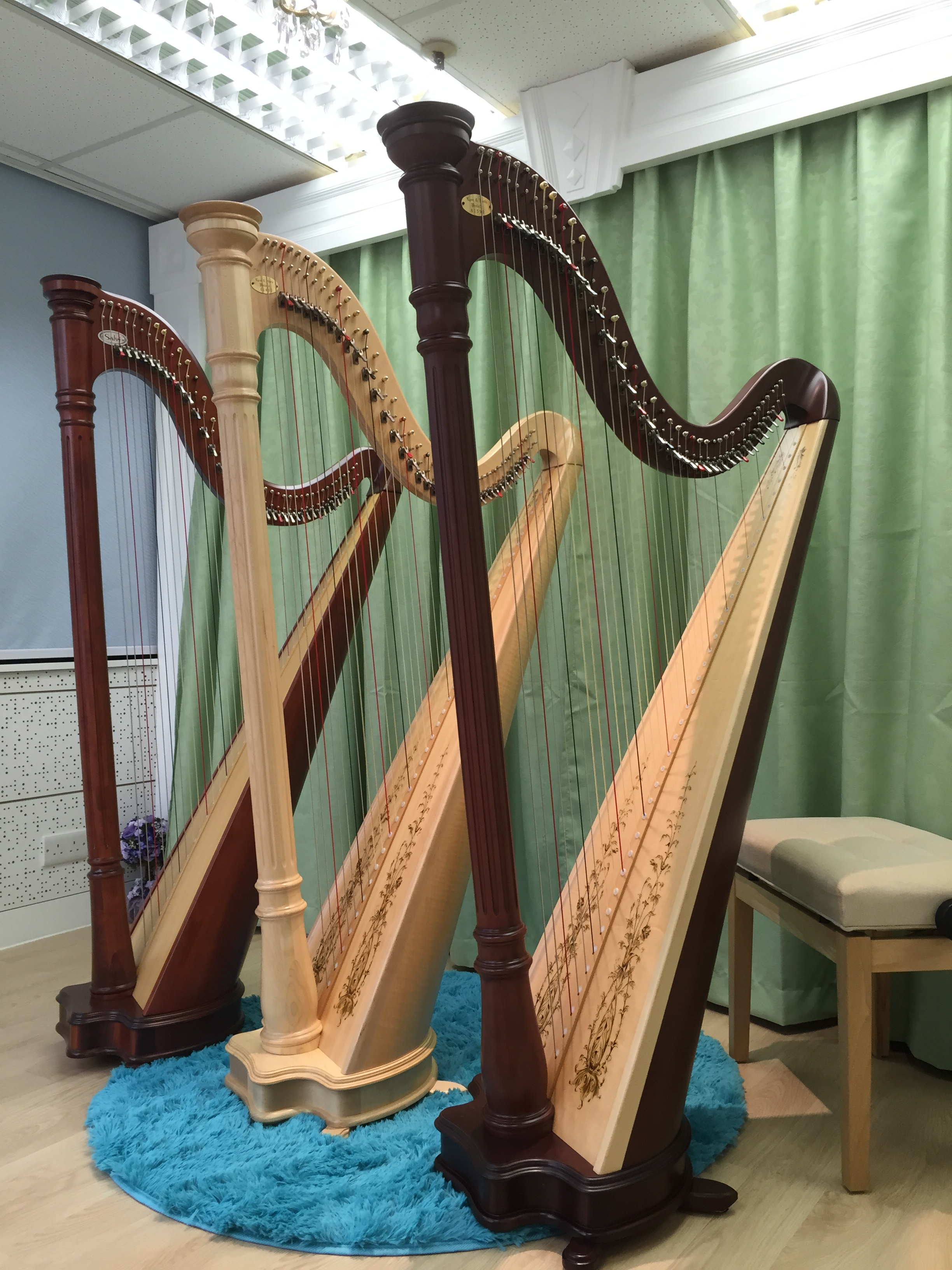 Harp Group Class 豎琴小組課程 – Harmonie Harp Music 香港豎琴藝術中心