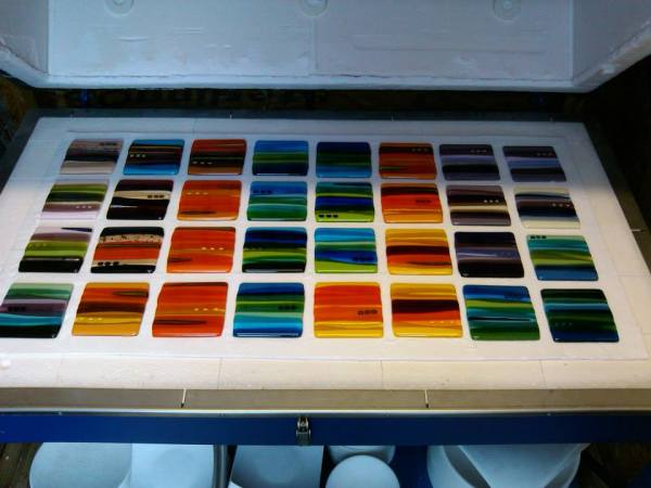 Scottish fused glass