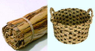 Handicraft Made From Banana Bark