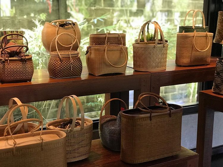 Bamboo Handicraft Products, source : floralimpressions Instagram