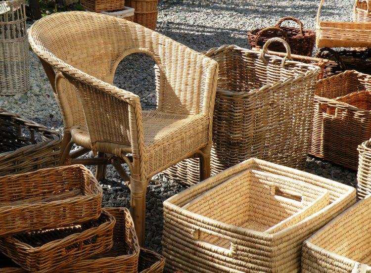 Rattan Products, source : INBAR