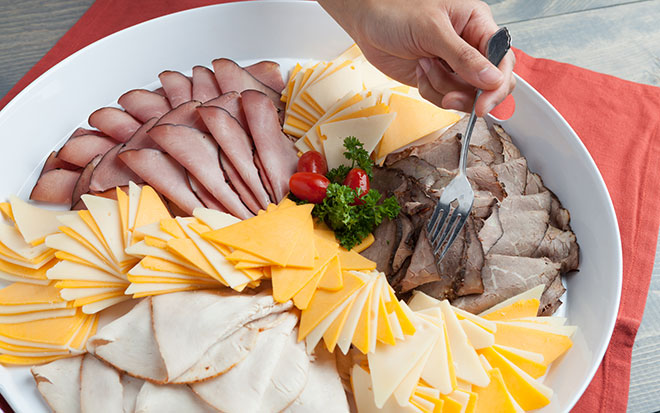 Classic Meat Amp Cheese Tray