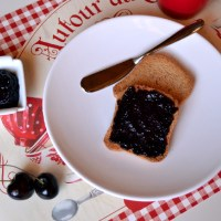 Easy 3 Ingredient Cherry Chia Seed Jam