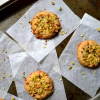 Orange Blossom Tahini Cookies