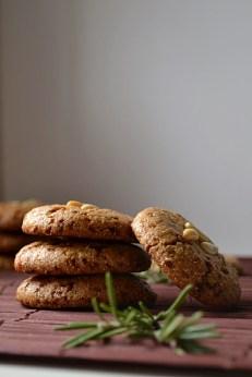 Vegan, Gluten Free, Rosemary Lemon Pine Nut Cookies (DSC_0484)
