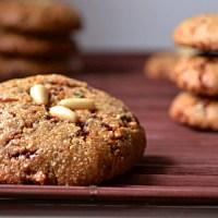 Rosemary & Lemon Pine Nut Cookies