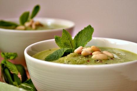 Zucchini & Mint Soup (DSC_0606)