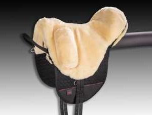 Horsedream fårskinnsprodukter Premium-Plus-XH Christ Premium Plus XH Barbackapad  (Hög manke)