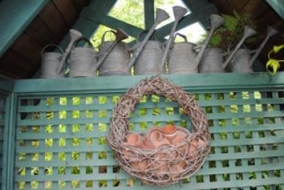 Freeland Tanner-Garden Designer-Napa-Garden Decor-Bespoke Garden Decor-vintage watering cans