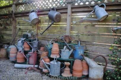 Freeland Tanner-Garden Designer-Napa-Garden Decor-Bespoke Garden Decor-watering cans